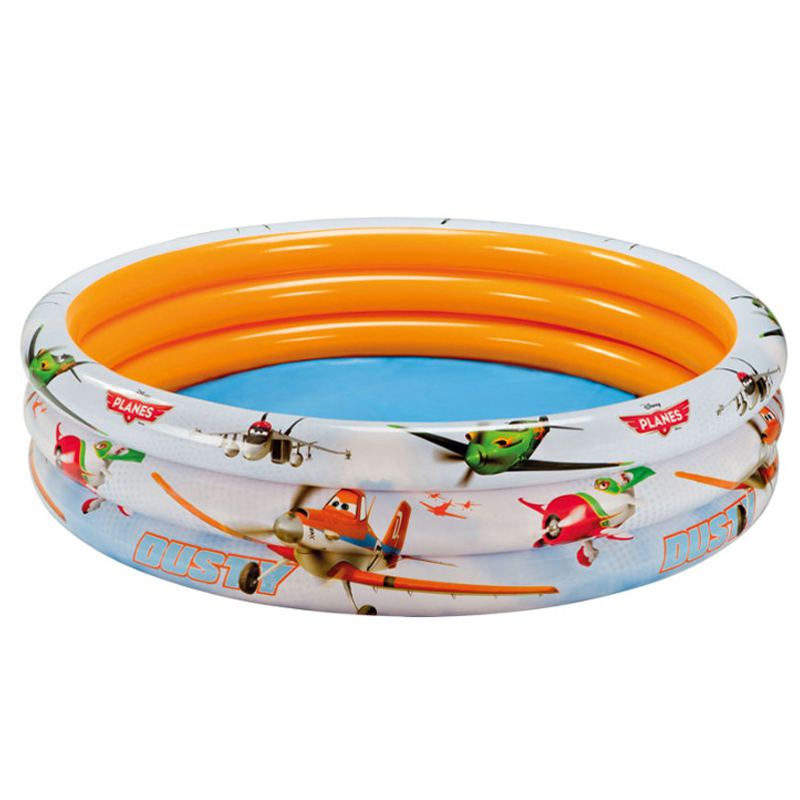 Cute Plane Pattern Children Swimming Pools 168*40CM Baby Inflatable Piscina Infant For Adults Paddling Pool Family Outdoor Toy(China (Mainland))