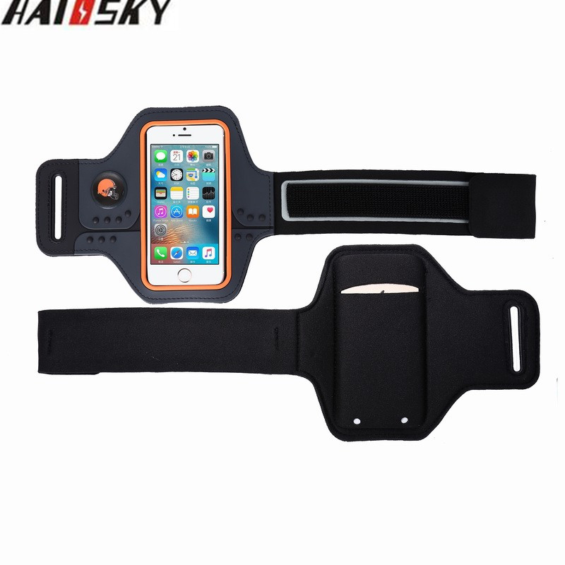 Haissky Universal Sport Waterproof Arm Band Case Touch Screen Pouch For iPhone 4 / 4S / 3G / 3GS Phone Running Fitness Phone Bag(China (Mainland))