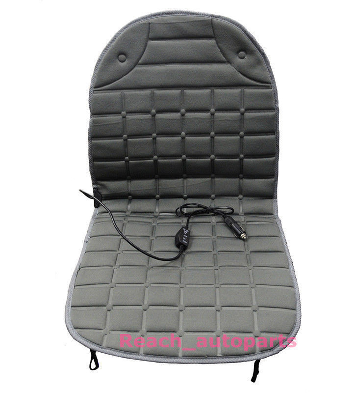 new 12v car heated seat cushion auto hot cover heat heating pad in automobiles seat covers from. Black Bedroom Furniture Sets. Home Design Ideas