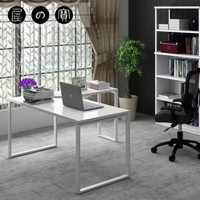 Tesoro moderno minimalista muebles de estudio en casa ikea for Muebles escritorio para casa
