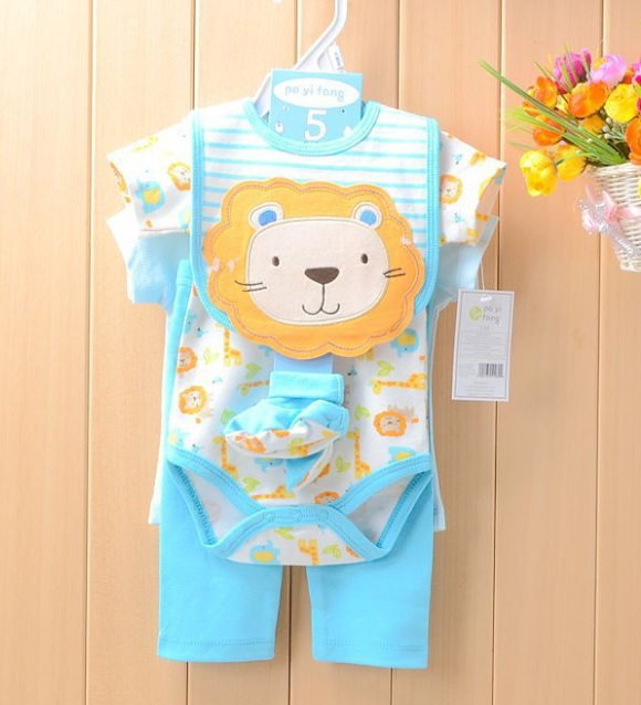 Carters Baby Girls Suits Baby Gear 4pcs sets Children's Trousers Bibs Sock Rompers HOT SALE(China (Mainland))