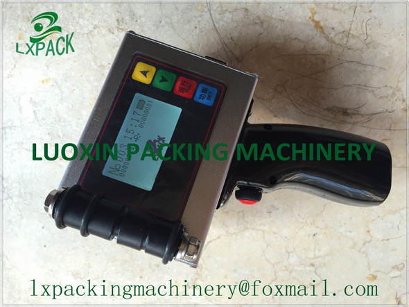 LX-PACK Lowest Factory Price Superior portable marking and coding equipment handheld coders industrial portable parts marking(China (Mainland))