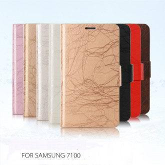 The new Samsung  mobile phone sets of auspicious clouds series 7100 leather mobile phone sets free shipping