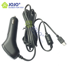 JOJO house Original Mini USB interface Car Charger with magnet ring Compatible with G1w/G1w-C/G1WH/GT680W/dash camera car DVR(China (Mainland))