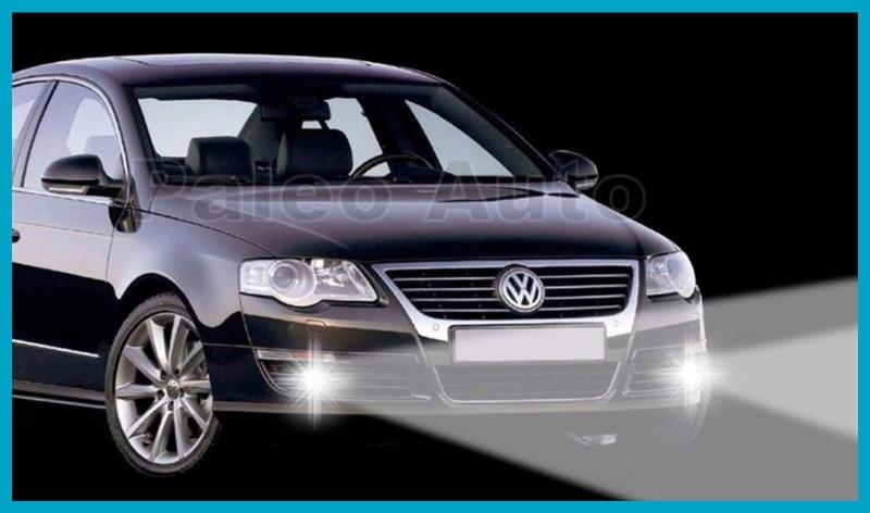 Купить Бесплатная Доставка Для VW Passat B6 2006 2007 2008 2009 2010 2011 Новый передняя Высокое Качество 9 LED Противотуманная Фара Противотуманная Фара Левая И Правая Сторона