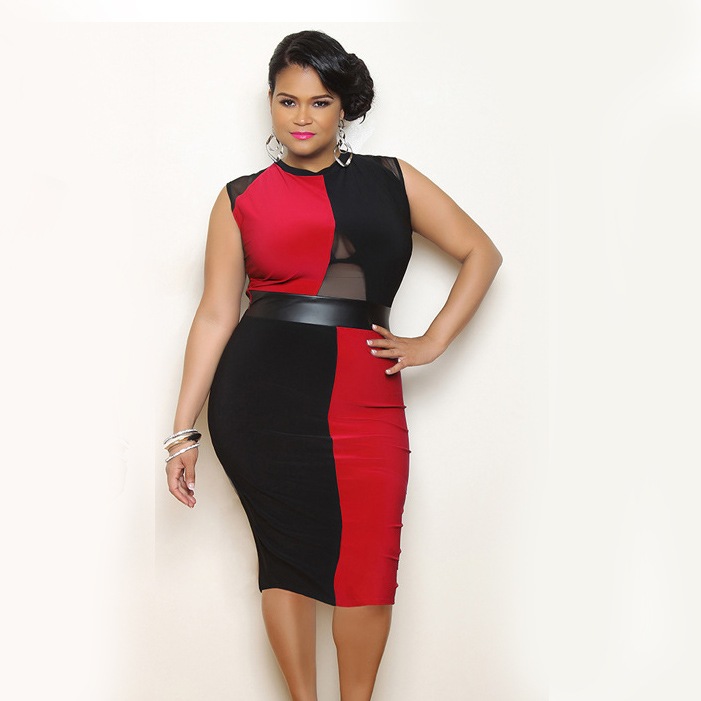 Seductive plus size dresses