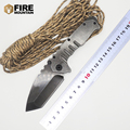 BMT Praetorian TG01 Tactical Folding Blade Knife 8CR13MOV Blade Steel Handle Camping Survival Knives Outdoor Climbing