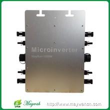Водонепроницаемый!!! МВЦ Maysun1200W 22-50VDC Солнечная на сетки галстук микро инвертор с 4 MPPT Функции И 2 М Кабель