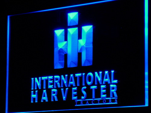 d133 International Harvester Tractor LED Neon Sign with On/Off Switch 7 Colors to choose(China (Mainland))