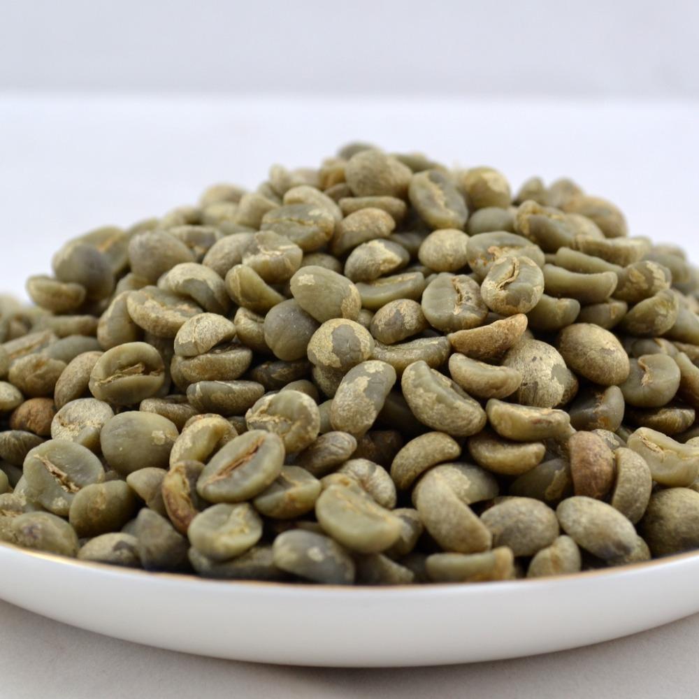 2013 Yunnan Green Coffee Bean High Altitude Arabica AA beans Coffee Beans Raw Coffee Bean Sugar