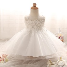 Buy Baptism Baby Princess Tutu Dress Girl Children Ball Gown kids Clothing Girls Clothes Wedding Girl Dresses Chritening gown for $9.88 in AliExpress store