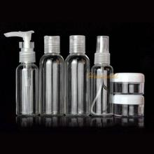 6Pcs/set Portable Outdoor Travel Wash Cosmetic Perfume Spray Bottle Storage Box(China (Mainland))