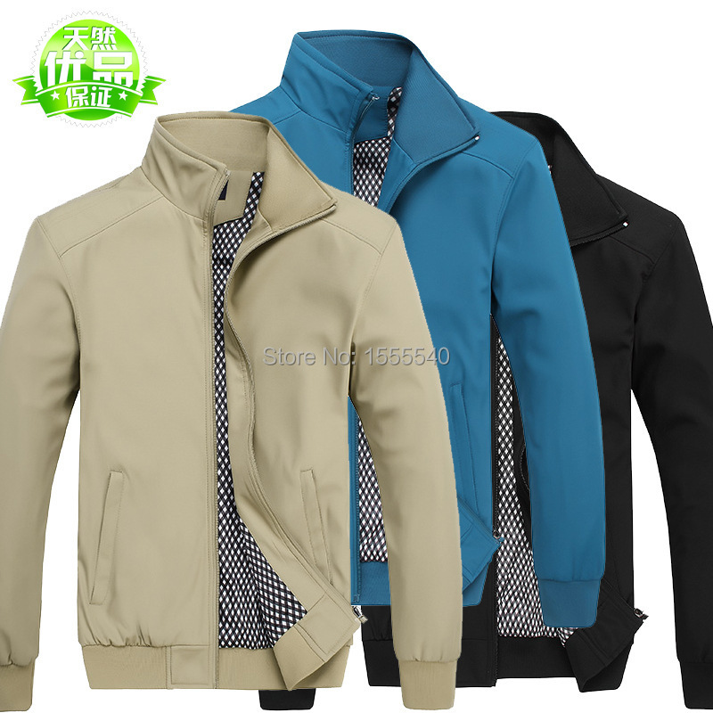 2015 spring new Veste homme breathable waterproof jacket qualited 5XL loose mens jackets coats - Tianlin_King store