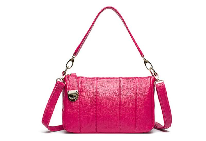 Hot fashion women Genuine leather bags casual small handbag messenger tote bag high quality female fashion bag purse(China (Mainland))