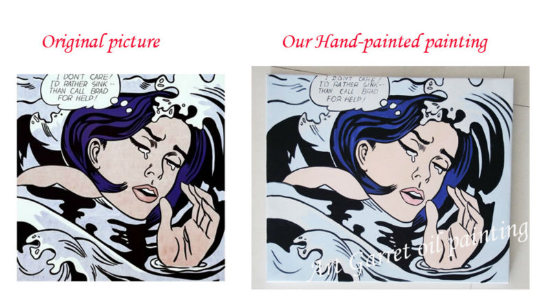 Modern Pop Art Oil Paintings On Canvas 100% Hand-painted Like Film Sport Music star Famous people Painting for living room(China (Mainland))
