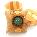 BOBO BIRDAll Bamboo Watches with Bamboo Wood Strap Wooden Quartz Watches for Men Japan Movemen Watches