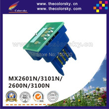 (TY-MX31) toner cartridge reset chip Sharp MX-3101N MX-2600N MX-3100N MX-3101 FT NT T ST LT JT kcmy 18/15k free dhl - The Color Sky Technology Co., Ltd. store