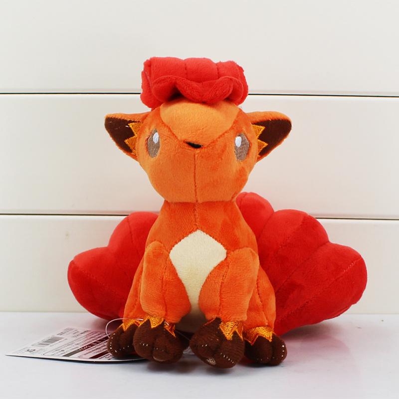 Здесь можно купить  5Pcs/Lot 16cm Pokemon Vulpix Plush Toy Stuffed Soft Dolls Toys Great Gift High Quality    Игрушки и Хобби