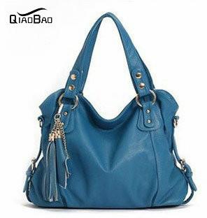 2016 New Geniune Leather Handbag Fashion Tassel Shoulder Tote Handbags of Famous Women Sheepskin Bag