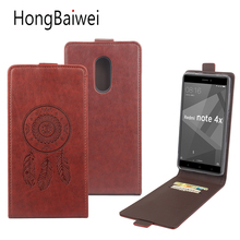 Buy HongBaiwei Cover Xiaomi Redmi Note 4X Case Leather Print Flower Mandala Flip Luxury Card Slot Wallet Phone Case Cover for $3.80 in AliExpress store