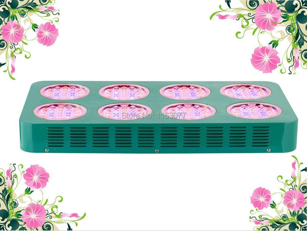Free Shipping Hydroponics System Plant Led Grow Light 480W New E3 Lens 85-265V 160 pcs 3W leds 660nm 440nm Dropshipping USA(China (Mainland))