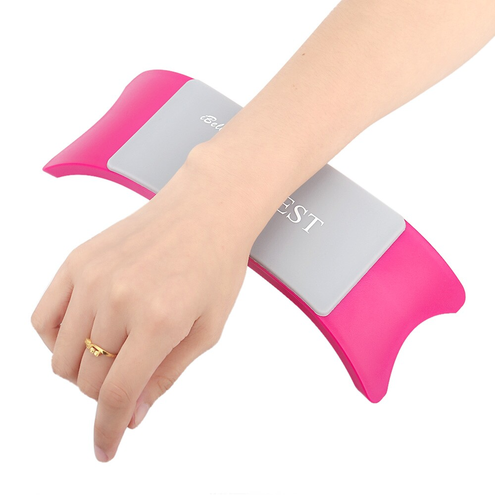 Comfortable Plastic & Silicone Nail art Cushion Pillow Salon Hand Holder Nail Arm Rest Manicure Accessories Tool Equipment(China (Mainland))