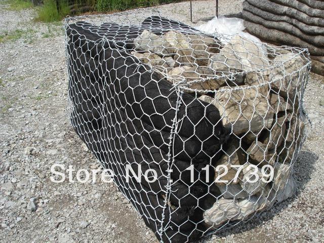 Gabion gravity mur de sout nement gabions fournisseur pierre cage de rempli - Fabriquer son gabion ...