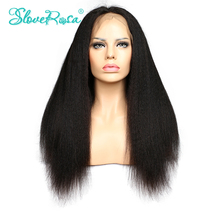 8A Full Lace/Front Lace Human Hair Wigs With Baby Hair Glueless Full Lace Wigs Mongolian Virgin Hair Kinky Straight Human Hair(China (Mainland))