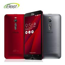 Original Asus ZenFone 2 ZE551ML FDD LTE 4G mobile phone Intel Z3580 64 Bit Quad Core CPU 2.3GHz 5.5
