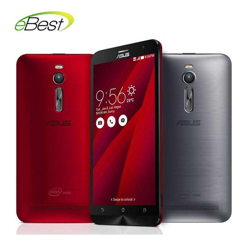 "Original Asus ZenFone 2 ZE551ML FDD LTE 4G mobile phone Intel Z3580 64 Bit Quad Core CPU 1.8GHz 5.5""1080P 4G RAM NFC cell phone(China (Mainland))"