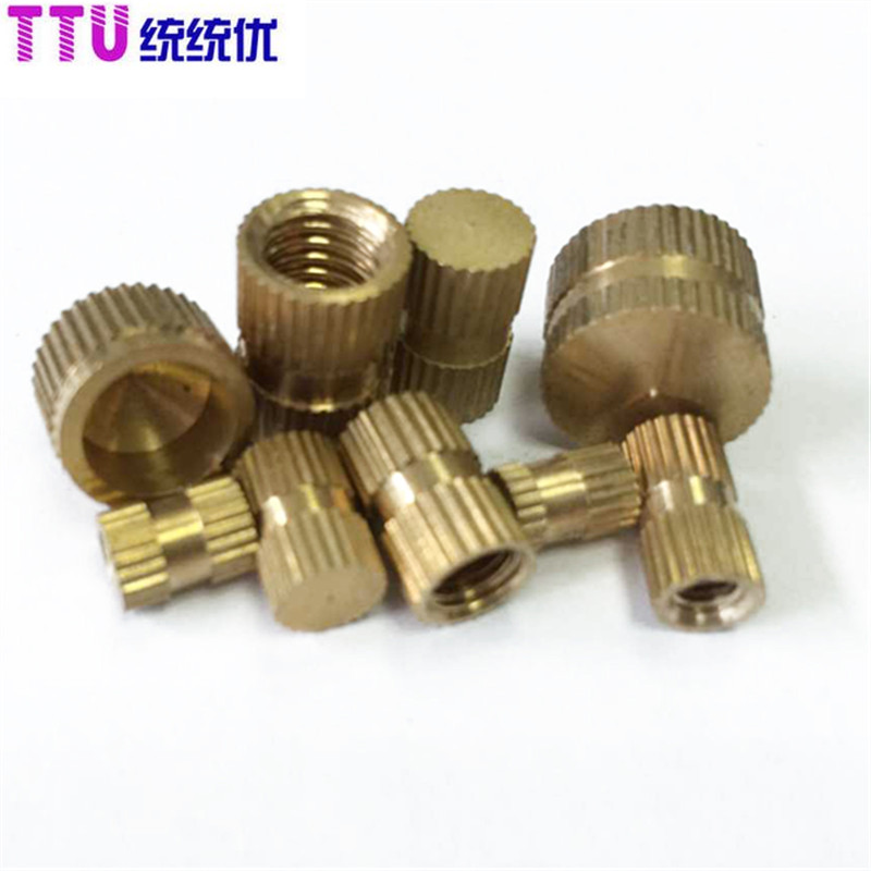 M6 blind nut copper insert knurled GB809<br><br>Aliexpress