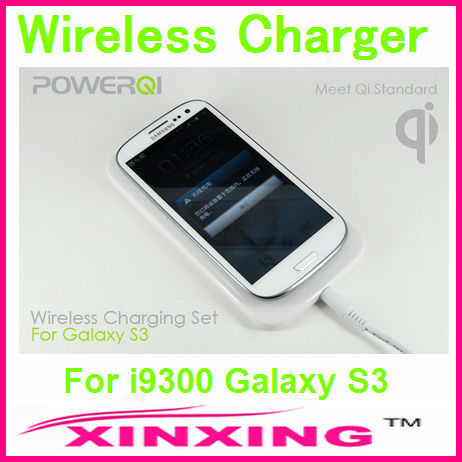 Newest  Qi Wireless Charger Charging Pad + Charge Adapter + Receiver Case for Samsung i9300 Galaxy S3