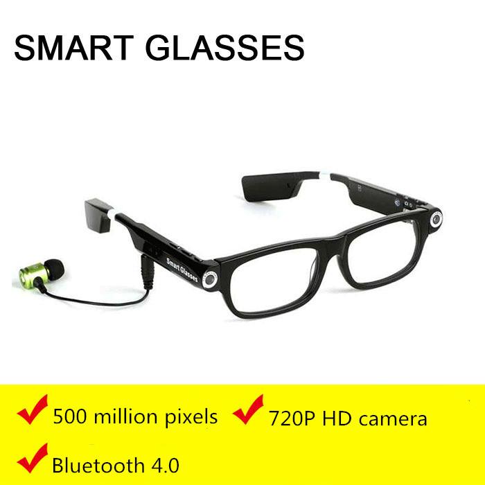 2016 new occhiali Video Glasses wireless Bluetooth phone calls para music video