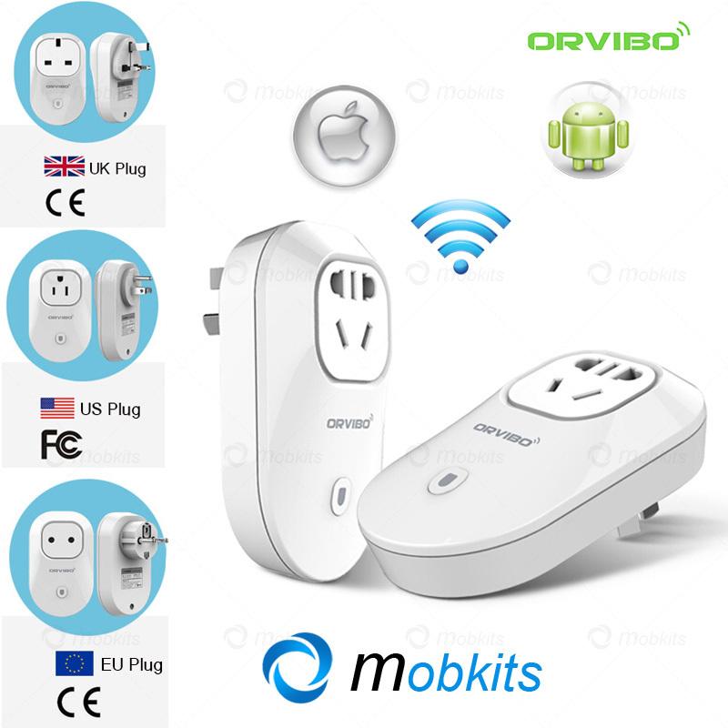 Original Orvibo S20 Plug Socket EU US UK AU WiFi Socket with Remote Control by Mobile Timer Socket WiFi Livolo for Smart Home(China (Mainland))