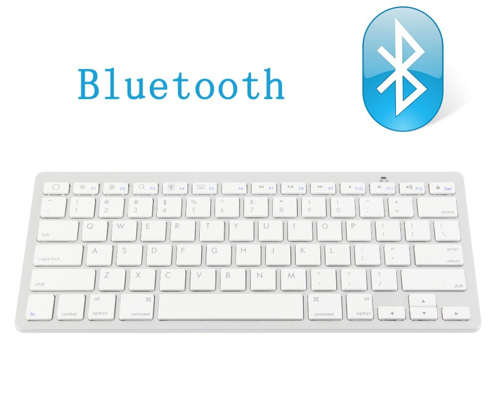 Hot selling Ultra-slim Wireless Keyboard Bluetooth 3.0 for Apple iPad & iPhone Series,Mac Book, Samsung Phones and Tablets(China (Mainland))