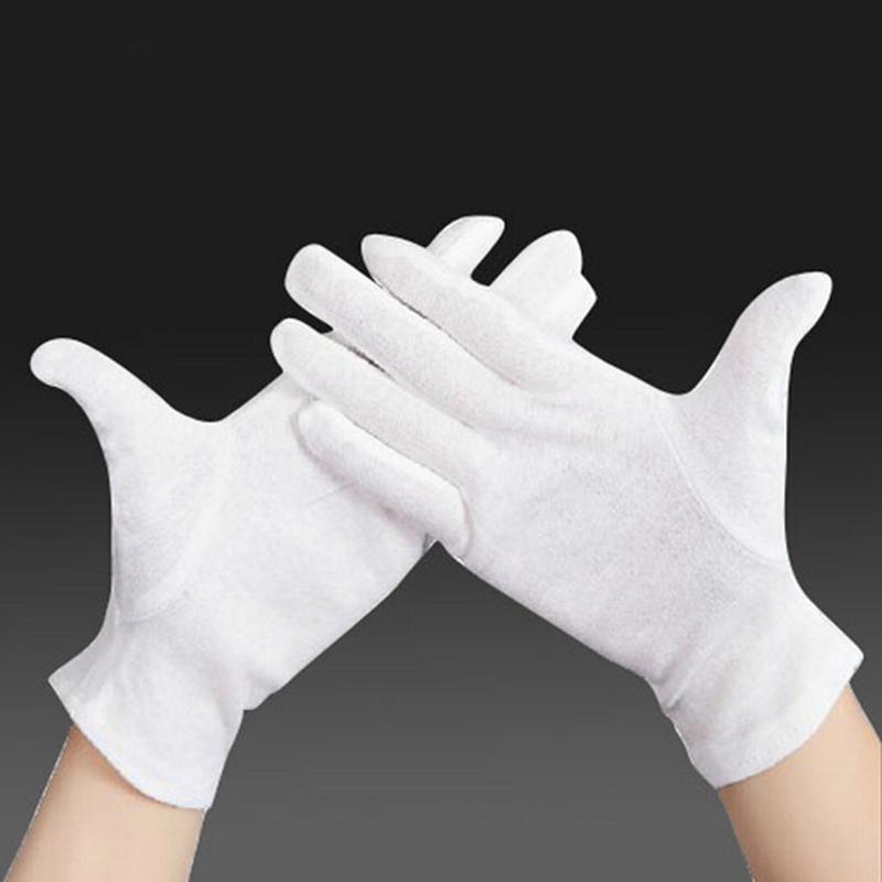 Short White Gloves Fancy Dress - Gloves