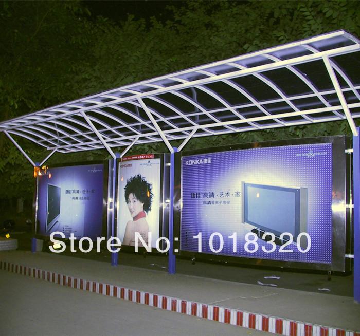 Metal bus stop shelter(China (Mainland))