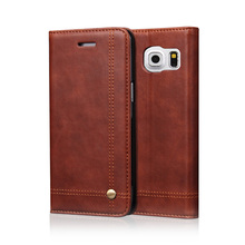 Buy Flip Leather Phone Cases Samsung Galaxy S7 S8 Plus Note 7 Case Wallet Pouch Style Card Slot Stand Cover Galaxy S7 Edge for $6.12 in AliExpress store