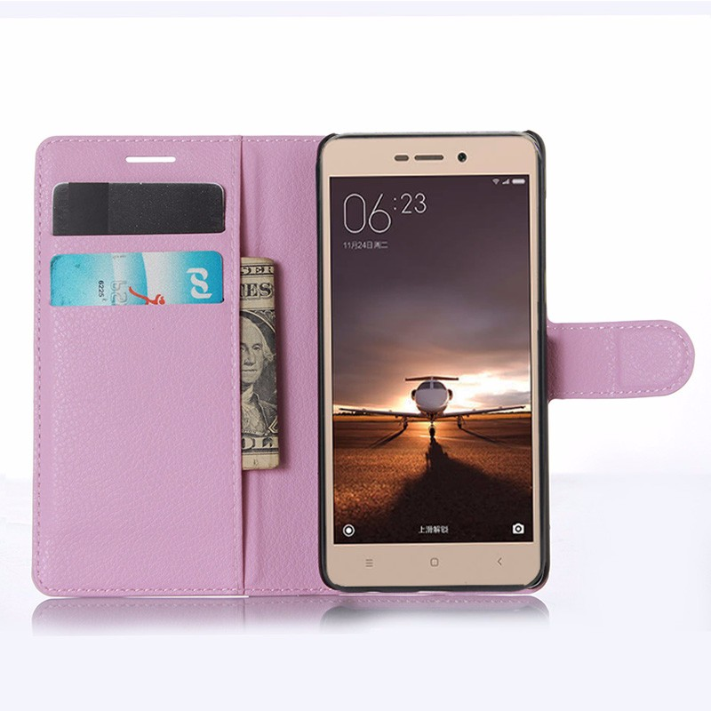 For Xiaomi Redmi 3 Pro Case 5.0 Wallet PU Leather Back Cover Case For Xiaomi Redmi 3 Redmi3 Pro Case Flip Protective Phone Bag (10)