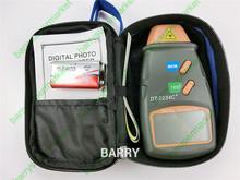 Dt-2234c + Digital del motor tacómetro velocidad velocímetro Digital foto láser Digital tacómetro sin contacto Tach