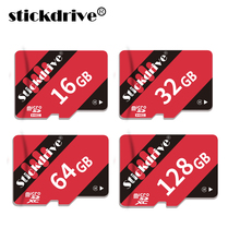 Buy stickdrive New Red Memory card 128gb 8gb 16gb 32gb 64gb micro sd card 64gb class 10 flash memory memoria Phone/Tablet/Camera for $3.47 in AliExpress store
