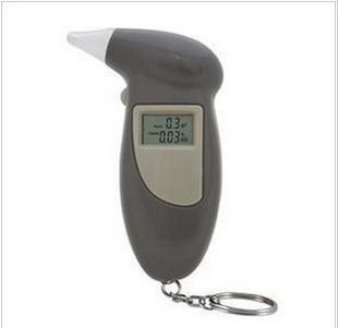 High precision portable alcohol tester detector digital 4 gas nozzle