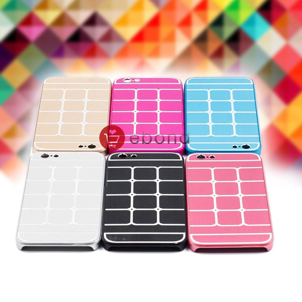 Metal+PC Back Cover Square Phone Cases For iPhone 6 Plus Mobile Phone Cases Cover For iPhone 6 Plus 5.5 inch Capinha de Celulare(China (Mainland))