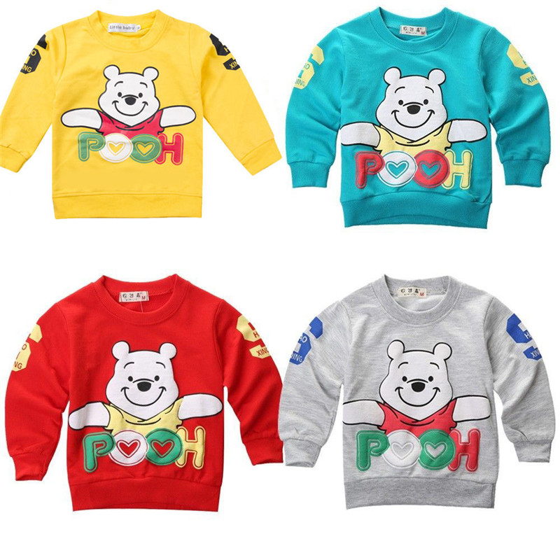 2016 Baby Winter Autumn Sweatshirts baby outerwear Baby Boys Girls Cotton Jumper Tracksuits Tops Hoodies Baby Clothes(China (Mainland))