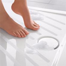 Modern Design 6pcs Transparent Non Slip Flooring Safety Strips Tape Mat Grip Stickers Use For Bath Tub &Shower 38x2x0.05cm(China (Mainland))
