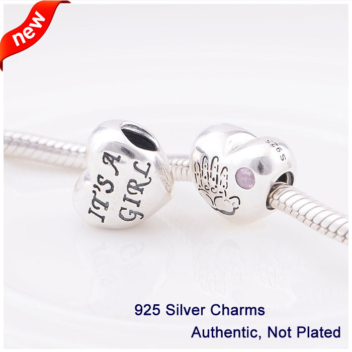 Baby boy charm Fit for Pandora Bracelet Authentic 100% 925 Sterling Silver Beads DIY Making Jewelry FL008<br><br>Aliexpress