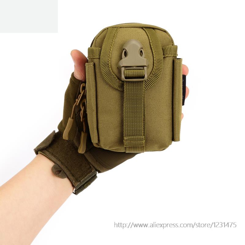 Very small 13cm Travel hang outside bag MOLLE accessories mini wear belt pcak for mobile phone A3124(China (Mainland))