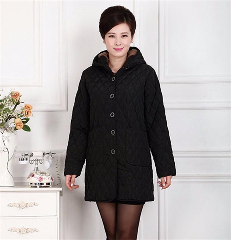 Скидки на 2016 Мода длинное пальто зимняя одежда женская куртка женщин удобрений пальто средней длины верхняя одежда Свободно плюс размер