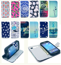 Buy Flower Pineapple & Elephants Fashion Flip Wallet Stand Cover Cases Samsung Galaxy S4 Mini i9190 PU Leather Case capa fundas for $2.93 in AliExpress store