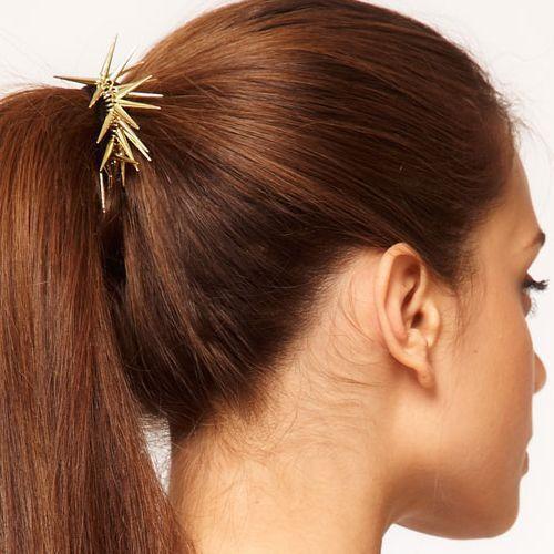 Fashion 2014 Newly Vintage Punk Rivet Headband Hair Rope F118(China (Mainland))